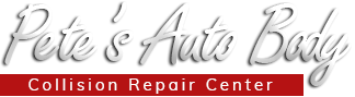 Pete's Auto Body Logo