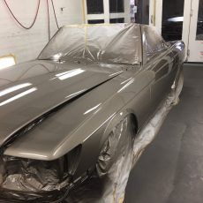 Auto Body Painting in Walnut